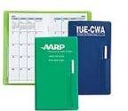 Custom Monthly Pocket Planner w/ Pen
