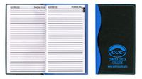 Soft Cover 2 Tone Vinyl Holland Series Address Book