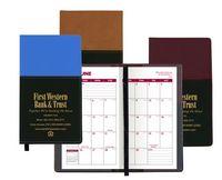 Mystic Series Soft Cover 2 Tone Vinyl Academic Planner / 2 Color