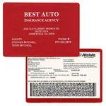 Custom Insurance Card Holder