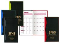 Soft Cover 2 Tone Vinyl Holland Series Academic Planner / 2 Color