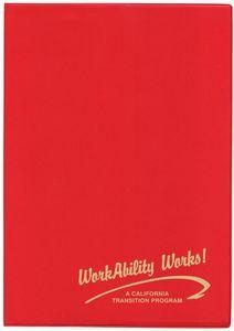 7 x 10 Standard Vinyl Cover Monthly Planner