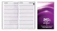 Address Book Full Color Digital Pocket Planner