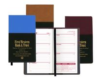 Mystic Series Soft Cover 2 Tone Vinyl Weekly Planner/ no Map / 1 Color