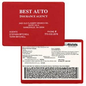 copy guard vinyl insurance card holder 5 34x4 116 807cg ideastage promotional products - Insurance Card Holder