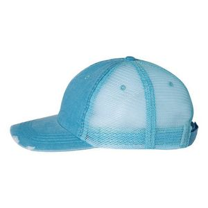 ad057b5455307 Mega Cap® Herringbone Contrast Stitch Cap (Embroidery) - 6990 - IdeaStage  Promotional Products