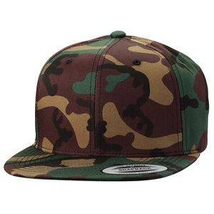 Yupoong Classic Flat Bill Snapback Hat Camo (Embroidery) - 6089M-C -  IdeaStage Promotional Products 1f1c182f88e