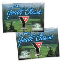2 Sided Rectangle Golf Flag