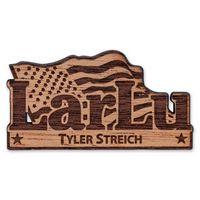 Wood Name Badge Custom Shape