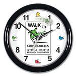 Custom Wall Clock w/ Motion Sweep (8 1/2