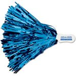Metallic 500 Streamer Pom Poms w/ Contoured Handle (Imprinted)