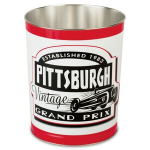 Custom Printed Small Tin Trash Cans
