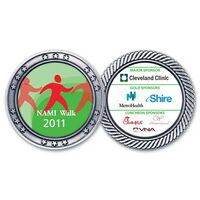 """Silver Challenge Coin (1 3/4"""")"""