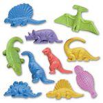 Jr. Dinosaur Stock Shape Pencil Top Eraser