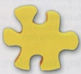 Puzzle Piece Stock Shape Eraser