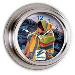 Custom Nickel Replica Porthole Clock (9