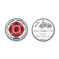 """Silver Challenge Coin (1 1/2"""")"""