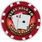 Custom Liberty 12-Stripe Exclusive Custom Poker Chip