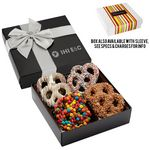 Custom Chocolate Covered Gourmet Pretzel Delight
