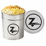 Custom 4 Way Popcorn Tins - (3.5 Gallon)