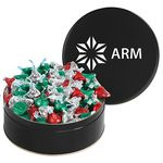 Custom Large Assorted Snack Tins - Hershey's Holiday Kisses