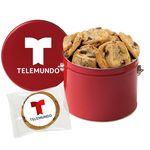 Custom Half Gallon Snack Tins - Gourmet Cookies