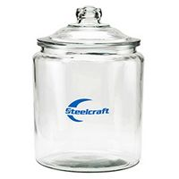 Half Gallon Glass Jar - Empty (64 Oz.)