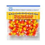 Custom Haunted Header Bag w/ Candy Corn (2 oz)