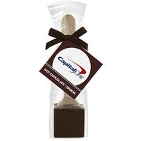 Hot Chocolate on a Spoon in Favor Bag - Dark Chocolate