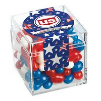 Commemorative Candy Box w/ Patriotic Jelly Belly Jelly Beans
