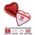 Romantic Chocolate Hearts