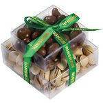 Stacked Present w/ Pistachios and Chocolate Covered Peanuts