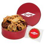 Custom Large Assorted Snack Tins - Gourmet Cookies