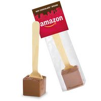 Hot Chocolate on a Spoon in Header Bag - Mexican Milk Chocolate