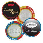 Custom Poker Chip w/Label