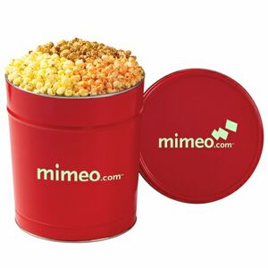 3 Way Popcorn Tins - (3.5 Gallon)
