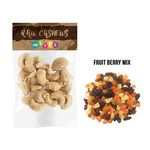 Custom Fruit Berry Mix in Header Bag (1 Oz.)