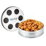 Custom Small Film Reel Tin - Caramel Popcorn