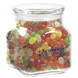 Contemporary Glass Jar Assorted Jelly Beans 32 Oz 32cj Jbn