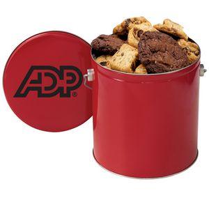 Gallon Snack Tins - Gourmet Cookies (36 cookies)