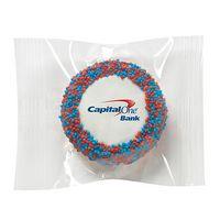 Printed Chocolate Covered Oreo® Cookies - Nonpareil Sprinkles/Printed Cookie