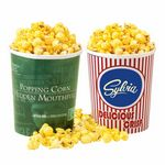 Custom Movie Theater Tub - Butter Popcorn w/ Lid