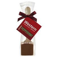 Hot Chocolate on a Spoon in Favor Bag - Milk Chocolate w/ Peppermint