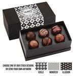Custom 6 Piece Decadent Truffle Box - Assortment 1