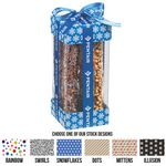 Custom Large Executive Treat Container with Pretzel Rods