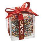 Custom Chocolate Covered Oreo Present w/ Custom Oreo Cookies and Rainbow Nonpareils