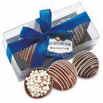 Hot Chocolate Bomb Gift Box - Original Flavor - 2 Pack - Classic Milk & Classic Dark
