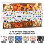 Custom 4 Way Contemporary Gift Box - Classic Popcorn