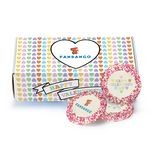 Custom Custom Sugar Cookie w/ Valentine's Day Sprinkles in Mailer Box (12)