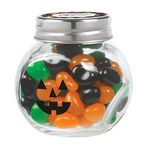 Custom Cryptic Canister Jar w/ Monster Mix Gourmet Jelly Beans